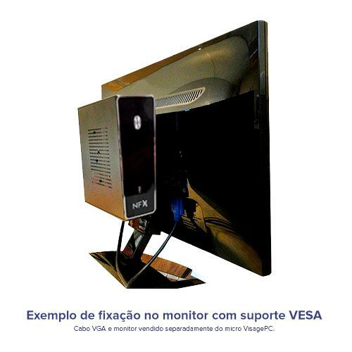 VISAGE PC BLANC D1800 - 145 1S VESA (DUAL CORE J1800 / 4GB RAM / HD 500GB NOTEBOOK / SERIAL / VESA / LINUX)