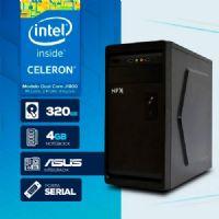VISAGE PC BLANC J1800 - 243A 1S ( DUAL CORE J1800 / HD 320GB / 4GB RAM / MB ASUS / 1X SERIAL / LINUX )
