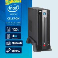 VISAGE PC BLANC D1800 - 141R SSD 1S PDV ( DUAL CORE J1800 / 4GB RAM NOTE / SSD 120GB / 1X SERIAL / MB ASROCK / LINUX )
