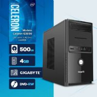 VISAGE PC BLEU G3930 - 245GD ( Celeron G3930 / HD 500GB / 4GB RAM / MB GIGABYTE / DVD-RW / LINUX )