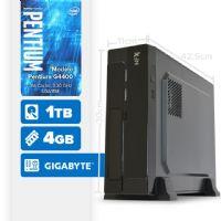 VISAGE PC BLEU G4400 - 141TG SLIM ( Pentium G4400 / 4GB / 1TB / MB GIGABYTE / LINUX )