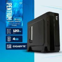 VISAGE PC BLEU G4400 - 141G SSD SLIM ( Pentium G4400 / 4GB / 120GB SSD / MB GIGABYTE / LINUX )