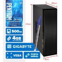 VISAGE PC BLEU G4400 - 145G VESA ( Pentium G4400 / 4GB / 500GB / VESA / MB GIGABYTE / SERIAL / LINUX )