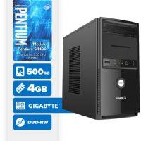 VISAGE PC BLEU G4400 - 245GD ( Pentium G4400 / 4GB / 500GB / DVD-RW / MB GIGABYTE / LINUX )