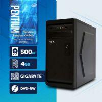 VISAGE PC BLEU G4400 - 245GD ( Pentium G4400 / 4GB / HD 500GB / DVD-RW / MB GIGABYTE / LINUX )
