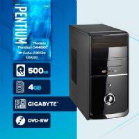VISAGE PC BLEU G4400T - 245GD ( Pentium G4400T / HD 500GB / 4GB RAM / DVD-RW / MB GIGABYTE / LINUX )