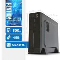 VISAGE PC BLEU G4400 - 145G SLIM ( Pentium G4400 / HD 500GB / 4GB RAM / MB GIGABYTE / LINUX )
