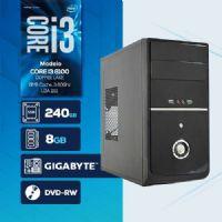 VISAGE PC BLEU I3 8100 - 282GD SSD (CORE I3 8100 / SSD 240GB / 8GB RAM / DVD-RW / MB GIGABYTE / LINUX)