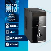 VISAGE PC BLEU I3 8100 - 245GD (CORE I3 8100 / HD 500GB / 4GB RAM / DVD-RW / MB GIGABYTE / LINUX)