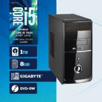 VISAGE PC BLEU I5 7400 - 281TGD ( Core I5 7400 / HD 1TB / 8GB RAM / DVD-RW / MB GIGABYTE / LINUX )