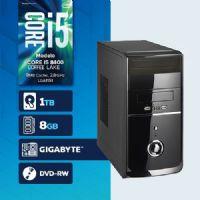 VISAGE PC BLEU I5 8400 - 281TGD  ( Core I5 8400 / HD 1TB / 8GB RAM / DVD-RW / MB GIGABYTE / LINUX )