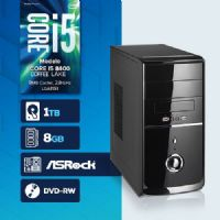 VISAGE PC BLEU I5 8400 - 281TRD ( Core I5 8400 / HD 1TB / 8GB RAM / DVD-RW / MB ASROCK / LINUX )