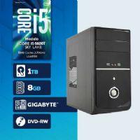 VISAGE PC BLEU I5 6600T - 281TGD ( Core I5 6600T / HD 1TB / 8GB RAM / DVD-RW / MB GIGABYTE / LINUX )