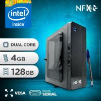 NFX PC D1800 - 141 1S SSD PDV/VESA ( INTEL DUAL CORE / 4GB / SSD 128GB / SERIAL / VESA )