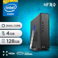 NFX PC D1800 - 141 1S SSD MINI/VESA ( INTEL DUAL CORE / 4GB / SSD 128GB / SERIAL / VESA )