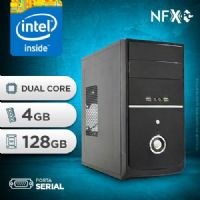 NFX PC D1800 - 241 1S SSD ( INTEL DUAL CORE / 4GB / SSD 128GB / SERIAL )