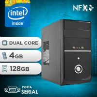 NFX PC IPX4005G - 241 1S SSD ( INTEL CELERON DUAL CORE  / 4GB / SSD 128GB / SERIAL )