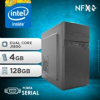 NFX PC  J1800 - 241A 1S SSD ( DUAL CORE J1800 / 4GB / SSD 128GB / SERIAL )