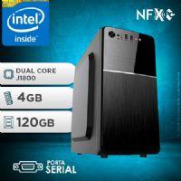 NFX PC  J1800 - 241A 1S SSD ( INTEL CELERON DUAL CORE J1800 / 4GB / SSD 120GB / SERIAL )