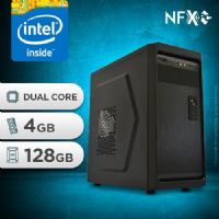 NFX PC IPX1800 - 241 SSD ( INTEL DUAL CORE / 4GB / SSD 128GB )