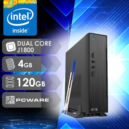 NFX PC IPX1800 - 141 SSD MINI/VESA ( CELERON DUAL CORE / SSD 120GB / 4GB RAM / VESA / MB PCWARE )