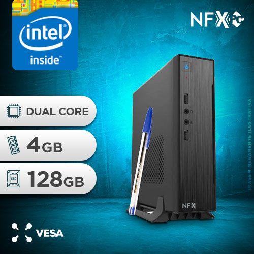 NFX PC IPX1800 - 141 SSD MINI/VESA ( INTEL DUAL CORE / 4GB / SSD 128GB / VESA )