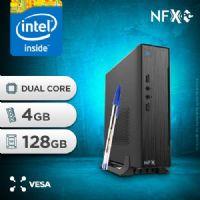 NFX PC IPX4005G - 141 SSD MINI/VESA ( INTEL CELERON DUAL CORE / 4GB / SSD 128GB / SERIAL / VESA )