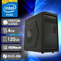 NFX PC G3420 - 241RD SSD ( PENTIUM G3420 / SSD 120GB / 4GB RAM / DVD-RW / MB ASROCK / LINUX )