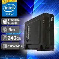 NFX PC G5400 - 142P SSD SLIM ( PENTIUM G5400 / SSD 240GB / 4GB RAM / MB PCWARE )