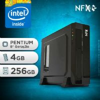 NFX PC G5420 - 142 SSD SLIM ( INTEL PENTIUM [8ª GERAÇÃO] / 4GB / SSD 256GB )