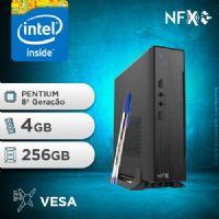 NFX PC G5420 - 142 SSD MINI/VESA ( INTEL PENTIUM [8ª GERAÇÃO] / 4GB / SSD 256GB / VESA )