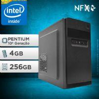 NFX PC G6405 - 242G SSD ( INTEL PENTIUM [10ª GERAÇÃO] / 4GB / SSD 256GB )