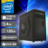 NFX PC I3 8100 - 241GD SSD ( Core I3 8100 / SSD 120GB / 4GB RAM / DVD-RW / MB GIGABYTE / LINUX )