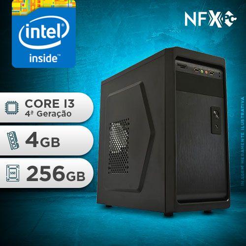 NFX PC-4 I3 - 242 SSD ( INTEL CORE I3 [4ª GERAÇÃO] / 4GB / SSD 256GB )