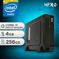 NFX PC I3 9100 - 142 SSD SLIM ( INTEL CORE I3 9100 [9ª GERAÇÃO] / 4GB / SSD 256GB )