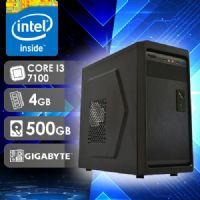 NFX PC I3 7100 - 245G ( CORE I3 7100 / HD 500GB / 4GB RAM / MB GIGABYTE )