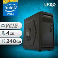 NFX PC-7 I3 - 242 SSD ( INTEL CORE I3 [7ª GERAÇÃO] / 4GB / SSD 240GB )
