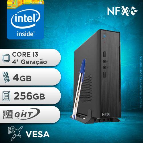 NFX PC-4 I3 - 142 SSD MINI/VESA ( CORE I3 [4ª GERAÇÃO] / 4GB / SSD 256GB / VESA )