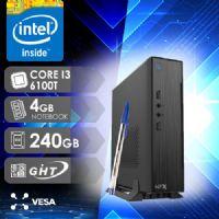 NFX PC I3 6100 - 142 SSD MINI/VESA ( CORE I3 6100T / SSD 240GB / 4GB RAM NOTEBOOK / VESA / MB GHT )