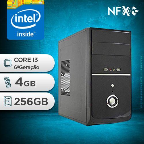 NFX PC-6 I3 - 242 SSD ( INTEL CORE I3 [6ª GERAÇÃO] / 4GB / SSD 256GB )