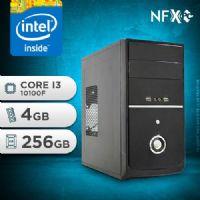 NFX PC I3 10100F - 242 SSD ( INTEL CORE I3 10100F [10ª GERAÇÃ0] / 4GB / SSD 256GB )