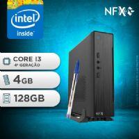 NFX PC-4 I3 - 141 SSD MINI/VESA ( INTEL CORE I3 [4ª GERAÇÃO] / 4GB / SSD 128GB / VESA )