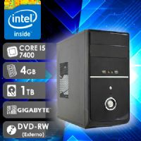 NFX PC I5 7400 - 241TGD EXT LIMITED ( Core I5 7400 / HD 1TB / 4GB RAM / DVD-RW EXTERNO / MB GIGABYTE / LINUX )