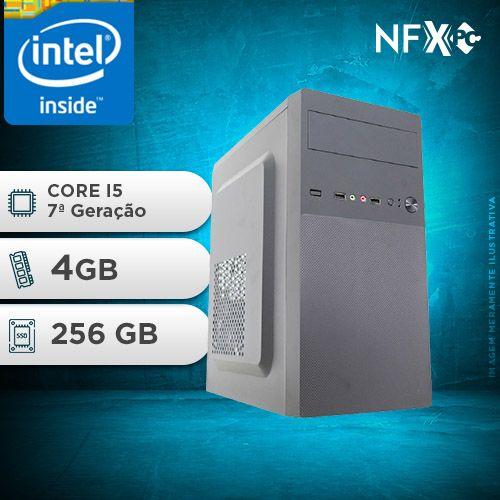 NFX PC-7 I5 - 242 SSD ( INTEL CORE I5 [7ª GERAÇÃO] / 4GB / SSD 256GB )