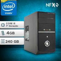 NFX PC-7 I5 - 242 SSD ( INTEL CORE I5 [7ª GERAÇÃO] / 4GB / SSD 240GB )