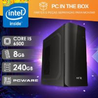 PC IN THE BOX I5 6500 - 382 SSD 500W ( CORE I5 6500 / SSD 240GB / 8GB RAM / MB PCWARE )
