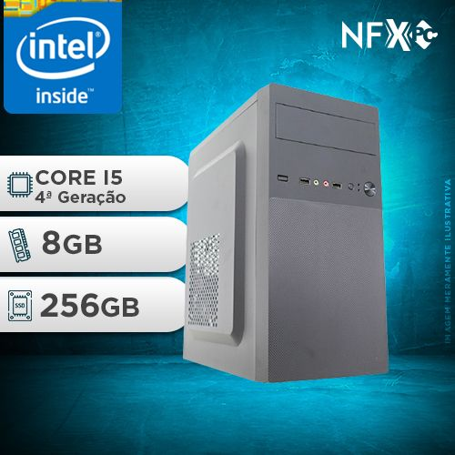 NFX PC-4 I5 - 282 SSD ( INTEL CORE I5 [4ª GERAÇÃO] / 8GB / SSD 256GB )