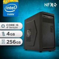 NFX PC-4 I5 - 242 SSD ( INTEL CORE I5 [4ª GERAÇÃO] / 4GB / SSD 256GB )