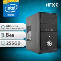 NFX PC I5 10400 - 282G SSD ( CORE I5 10400 [10ª GERAÇÃO] / 8GB / SSD 256GB )