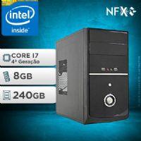 NFX PC-4 I7 - 282 SSD ( INTEL CORE I7 [4ª GERAÇÃO] / 8GB / SSD 240GB )